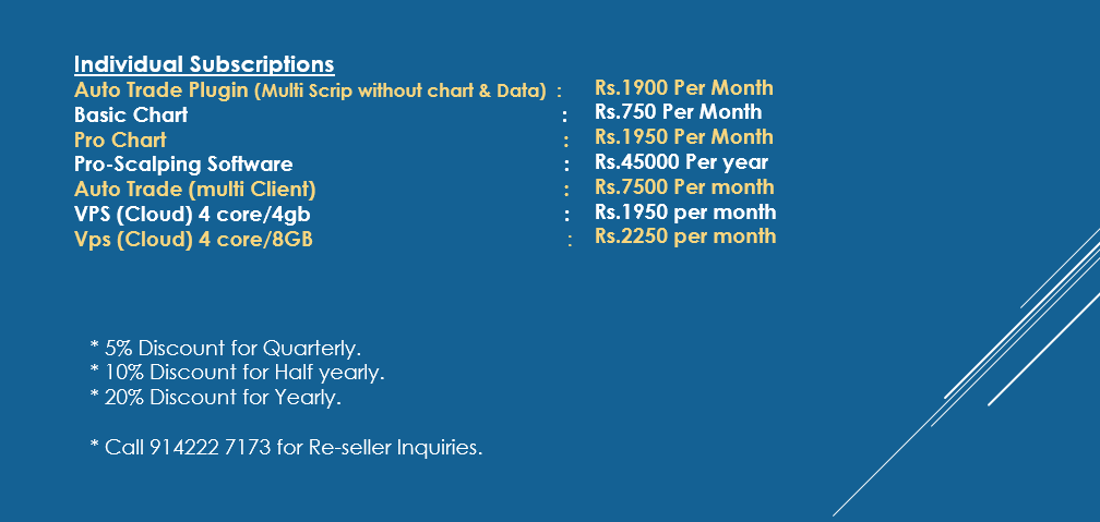 details about Robo trading individual subscription plan